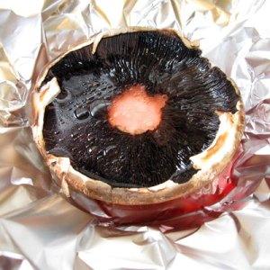 roasted mushroom cap