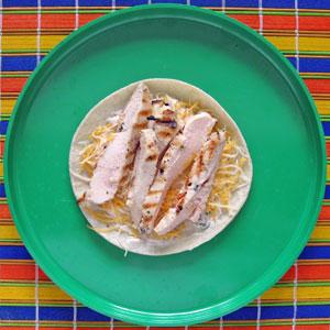 quesadilla making 3