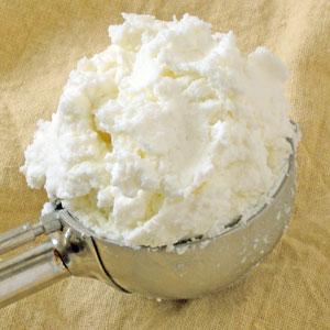 sheep's milk ricotta from Hidden Hills Creamery