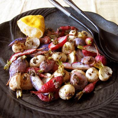 roasted radish
