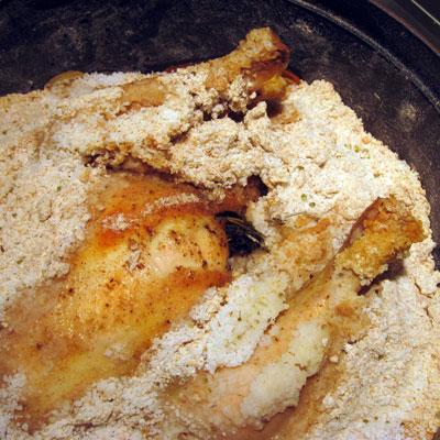 salt crusted chicken