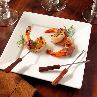 Sippity Sup's Orange & Rosemary Prosciutto-Wrapped Shrimp