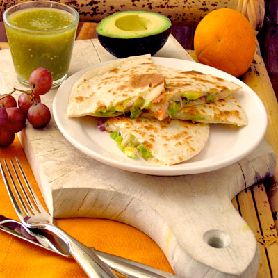 Squash Blossom Quesadillas Test Your Culinary Compass - SippitySup