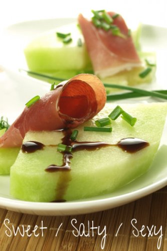 Sweet Salty Sexy Summertime Melon & Prosciutto