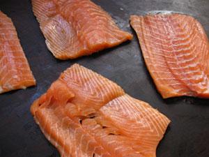 salmon scallopini