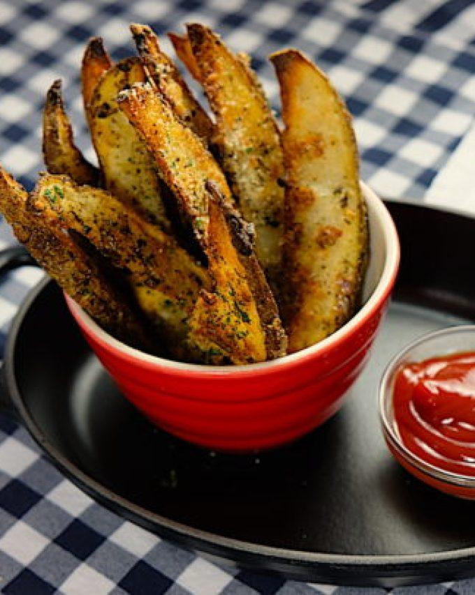 Rosemary Parmesan Fries