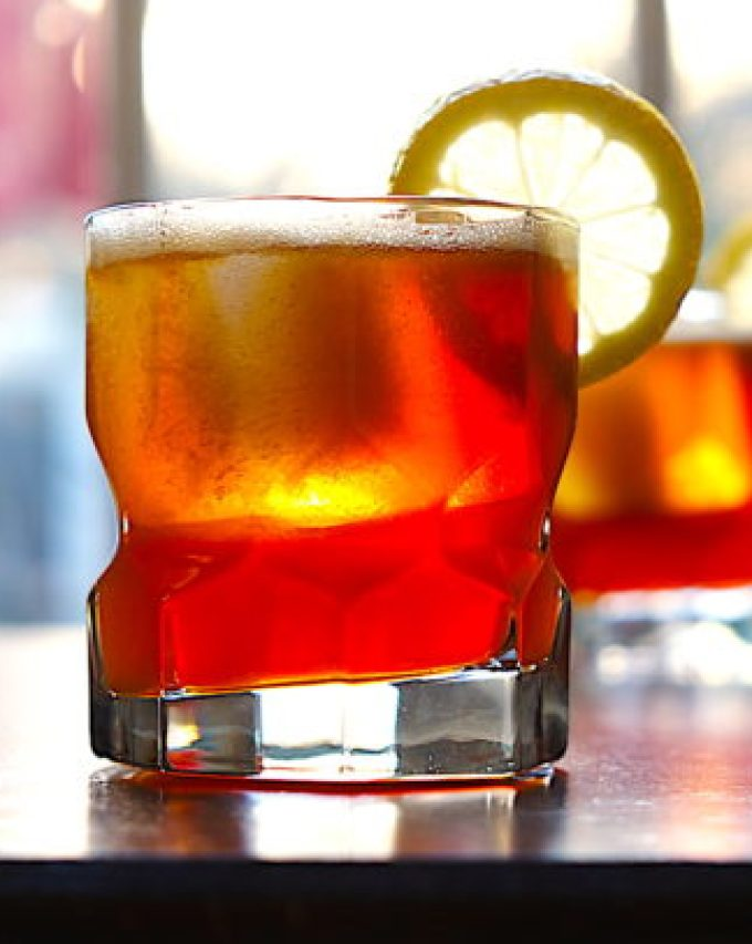Grand Marnier and Bourbon