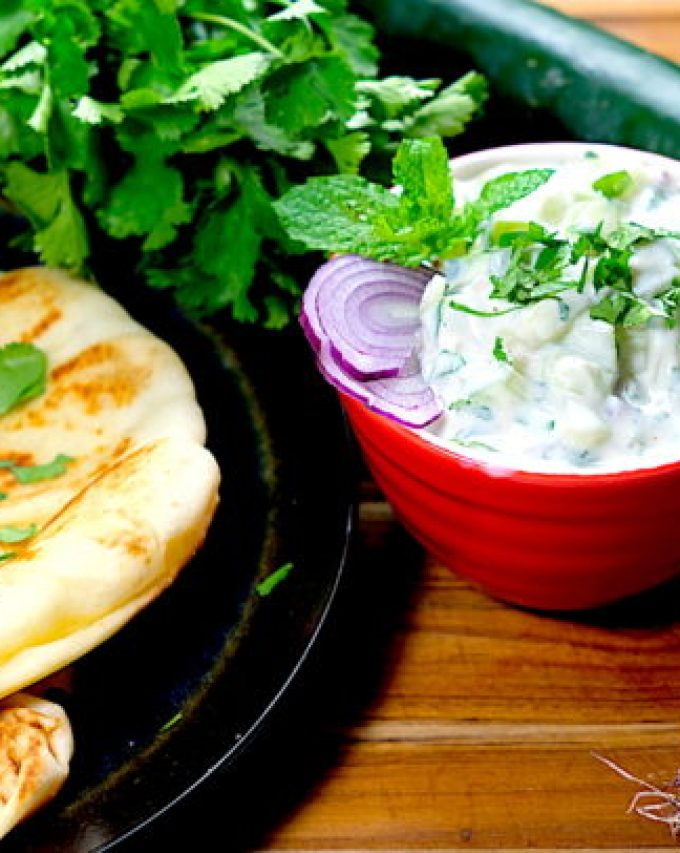 Mint Cucumber Raita