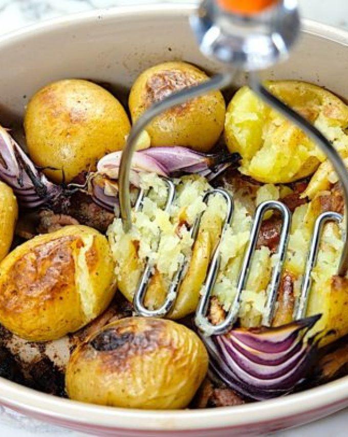 Rosemary Smashed Potatoes