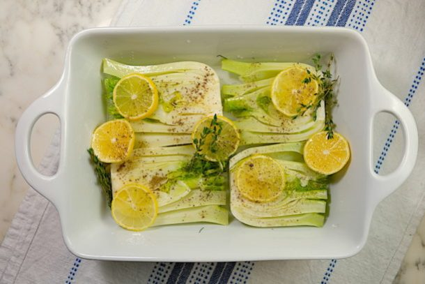 Lemon Braised Fennel