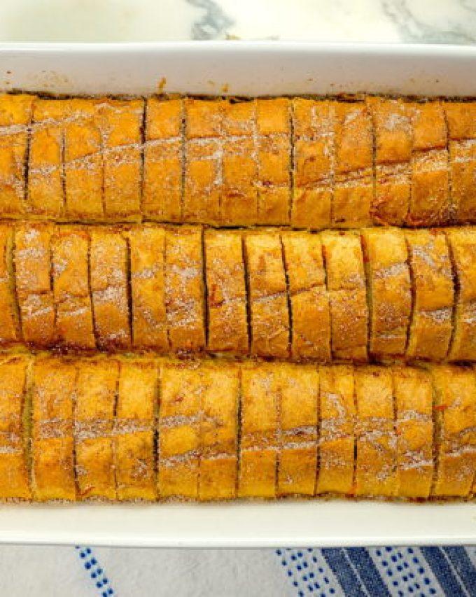 Orange Snickerdoodle Bread Pudding