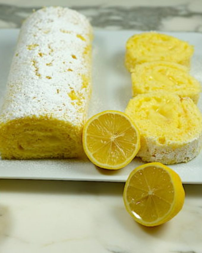 Lemon Roulade
