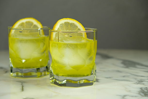 Gin & Galliano Sour