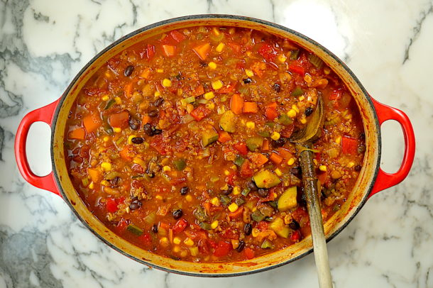 Quinoa and Vegetable Chili