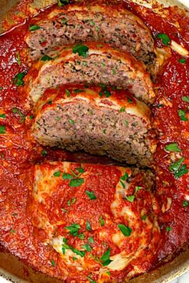 Italian Meatloaf Parmesan