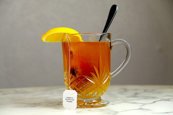 Bourbon hot toddy