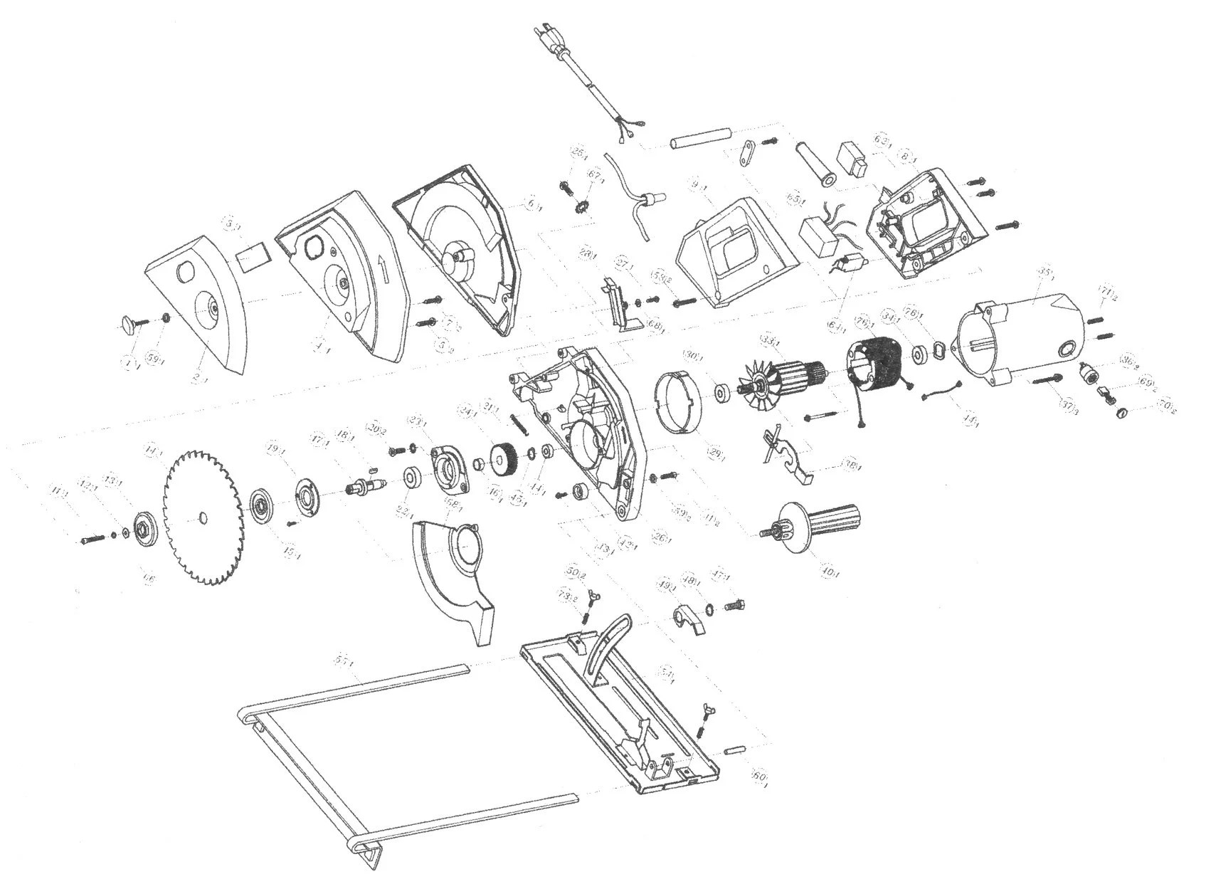 Sip 7 Metal Cutting Saw Diagram