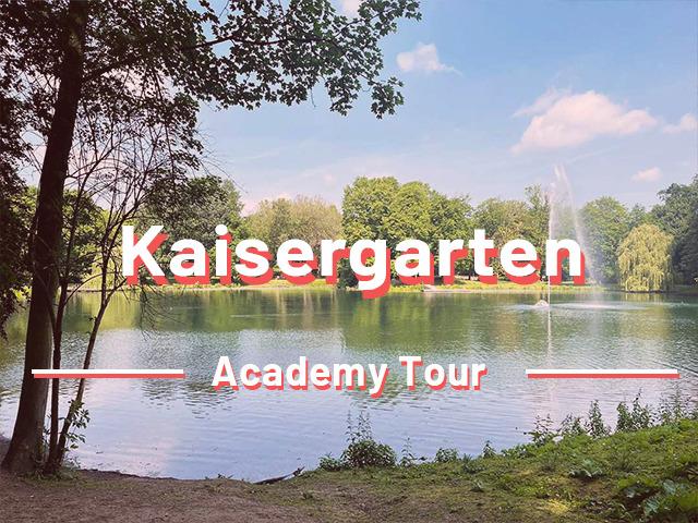 Sir Peter Morgan Kaisergarten Oberhausen Tour Stadtrallye Outdoor Schnitzeljagd