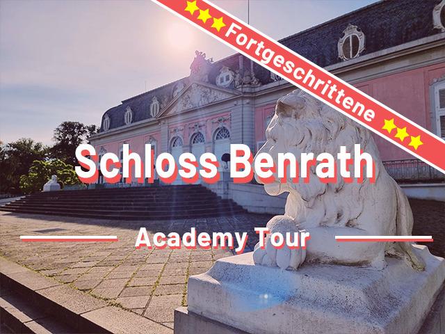 Düsseldorf Schloss Benrath Rätseltour für Fortgeschrittene