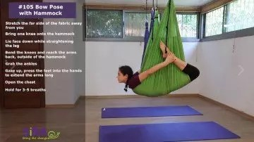 Bow Pose with Hammock – exercise #105