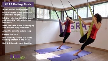 Rolling Stork – exercise #125