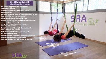 Flying Butterfly with Shoulder Opener – exercise #144