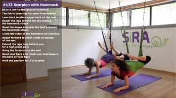 Scorpion with Hammock – exercise #173