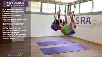 Crunches with Hammock – exercise #176