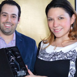 Georgina Arellano obtiene el premio Rising Star en Washington D.C.