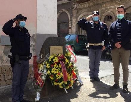 Lentini, commemorazione dell'uccisione delle guardie Rao e Reina