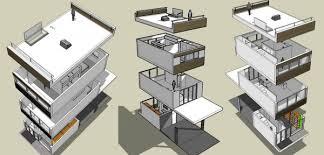 Décomposition d'un bâtiment (B.I.M.)
