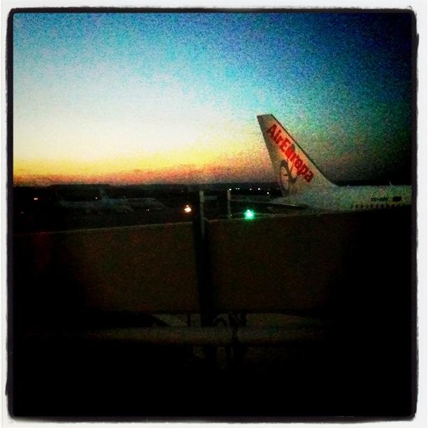 Por Air Europa de Madrid a Barcelona