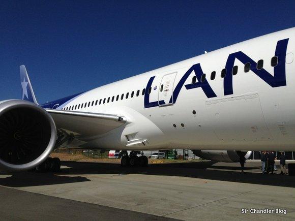 El 1º de octubre arranca el 787 de Lan en la ruta a Ezeiza