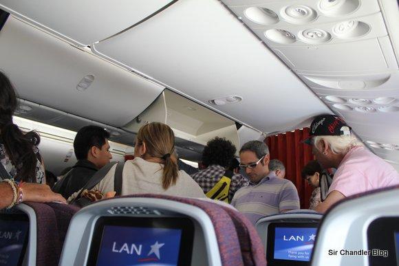 Segundo vuelo en el Boeing 787. Viaje a Santiago de Chile (crónica)