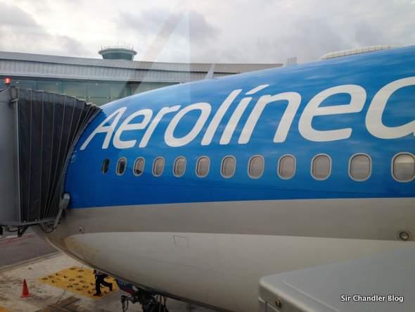 Volando de Barcelona a Buenos Aires por Aerolíneas Argentinas (crónica del vuelo)