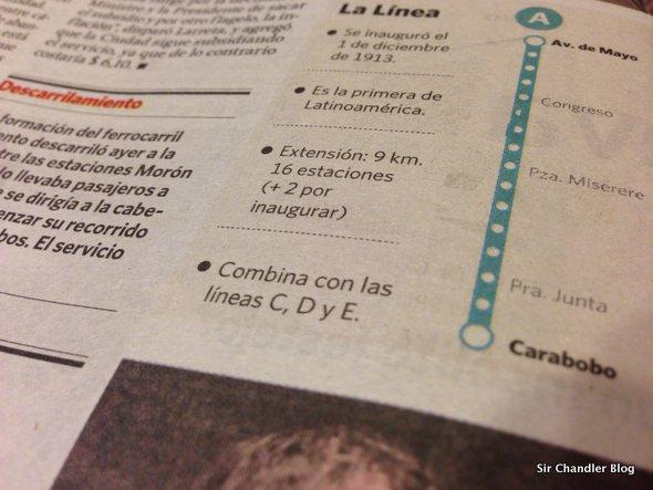 Cuanto subte les falta a Clarín y La Nación