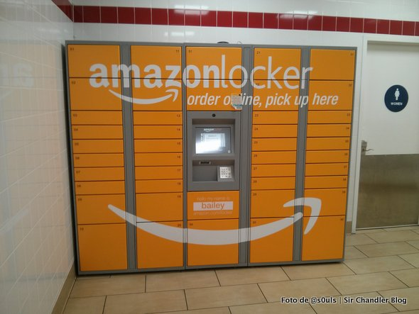 Retiro de una compra de Amazon en sus lockers automáticos