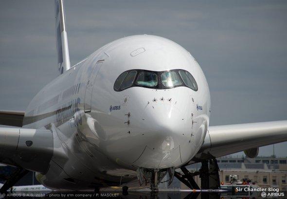 El primer piloto del nuevo Airbus 350 es Chandler