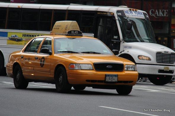 Los taxis de Nueva York, con televisión, GPS y tarjeta de crédito