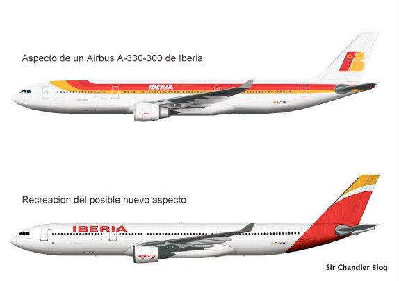Iberia presenta su nuevo diseño de aviones