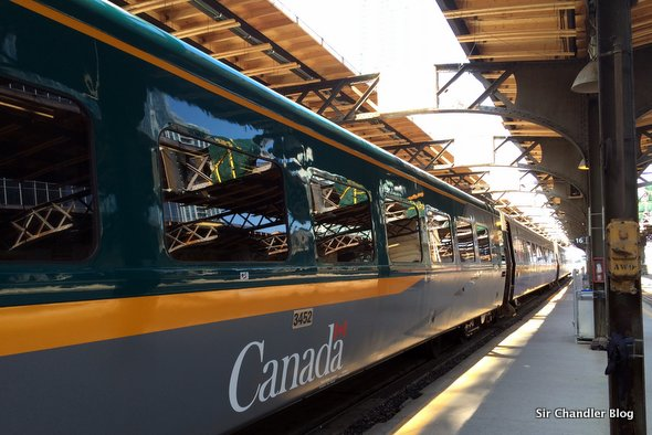 Viaje en tren de Montreal a Toronto