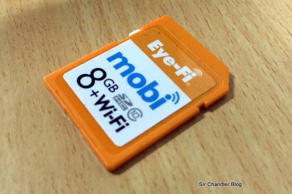 La tarjeta SD con WIFI