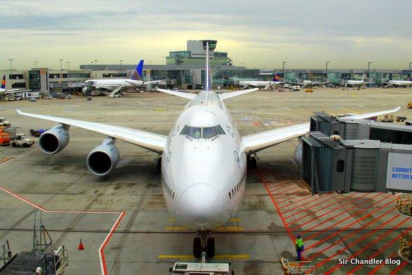 Volando de Frankfurt a Washington en el 747-8i de Lufthansa (Parte I/II)