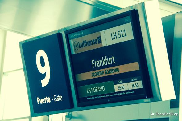 Crónica del vuelo a Frankfurt en el Boeing 747 de Lufthansa en business