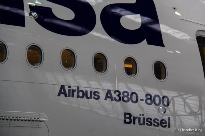 Recorrida por el inmenso Airbus 380 con muchas fotos y videos