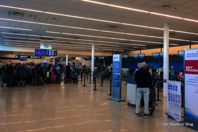 Aerolíneas Argentinas promociona los vuelos de cabotaje en Ezeiza