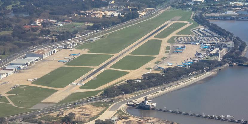 G20: Aeroparque y un temita con el estacionamiento