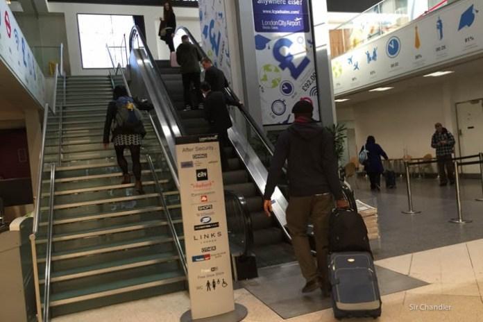 london-city-escalera