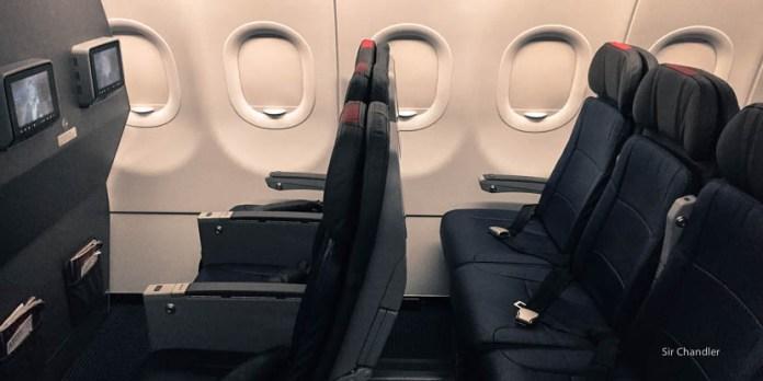De Miami a Las Vegas en un Airbus 321 nuevo de American Airlines