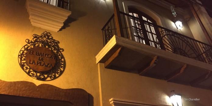 El hotel Balcón de la plaza de Salta